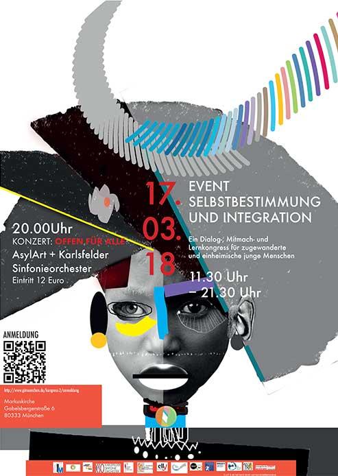 Plakat Event Selbstbestimmung und Integration