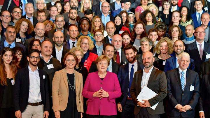 Nominierung zum nationaler Integrationspreis 2018