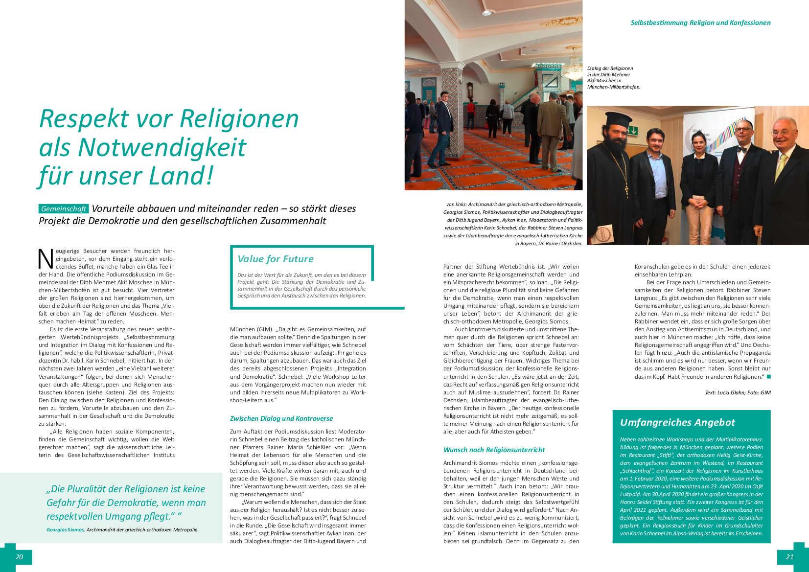 Religion und Konfessionen
