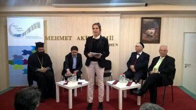 PD Dr. phil. habil. Karin B. Schnebel spricht am Tag der offenen Moscheen
