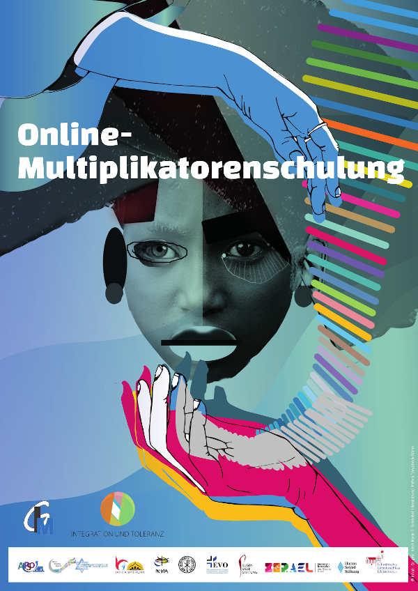 Online Multiplikatorenschulung Plakat