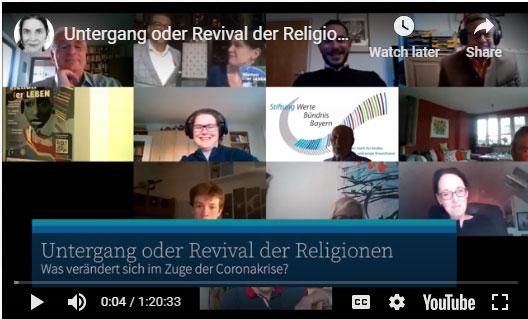 Podium-Untergang-Revival-Religionen