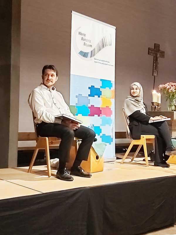 Aykan Inan und Zeynep Gülcino