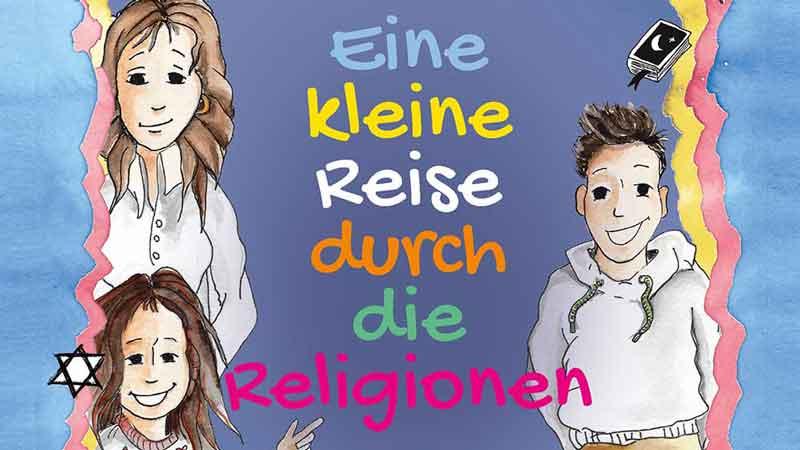 """ONLINE-Buchvorstellung: """"EINE KLEINE REISE DURCH DIE RELIGIONEN"""""""