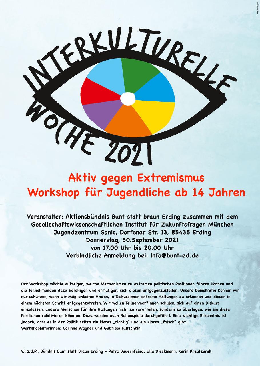 interkulturelle Woche Plakat